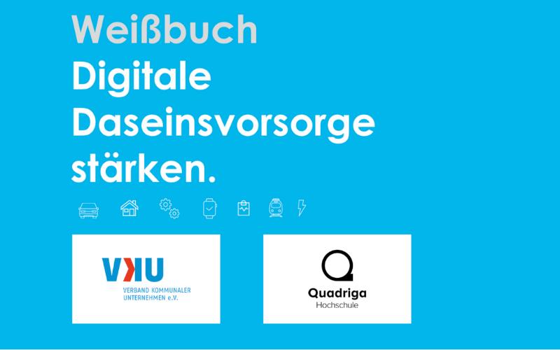 """Weißbuch """"Digitale Daseinsvorsorge stärken"""" – Wer profitiert von den Daten kommunaler Betriebe?"""