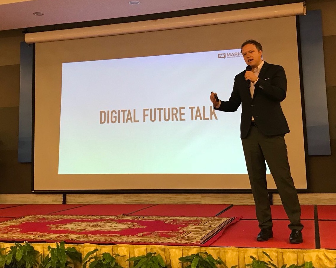 Video-Interview about Digital Transformation at Digital Future Talk